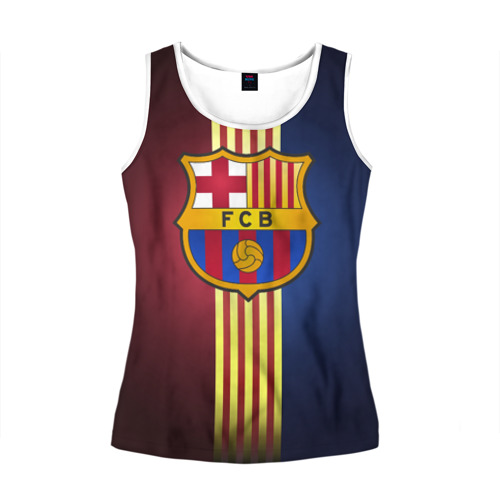 Женская майка 3D Barcelona FC