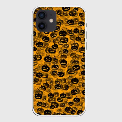 Чехол для iPhone 12 Pro Mini Тыквы