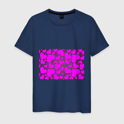 Мужская футболка хлопок Любовная история