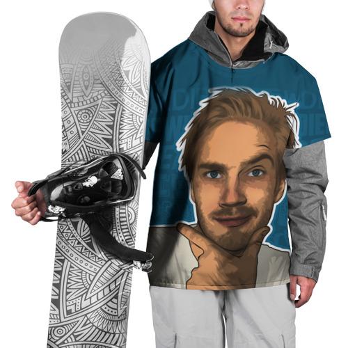 Накидка на куртку 3D Pew die pie