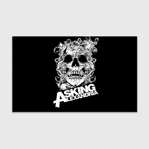 Бумага для упаковки 3D Asking Alexandria