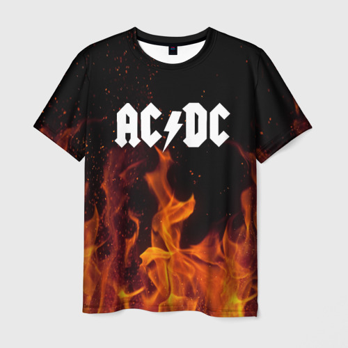 Мужская футболка 3D AC DC