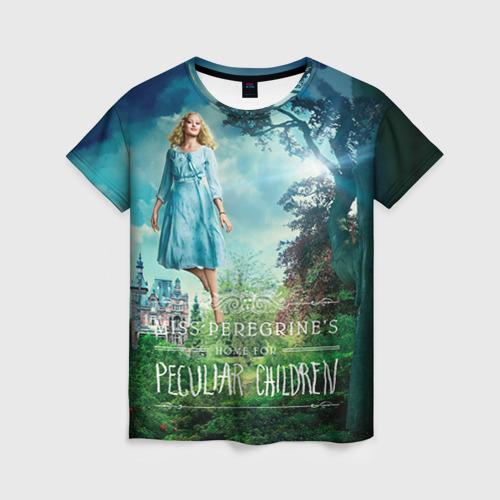 Женская футболка 3D Эмма Блум