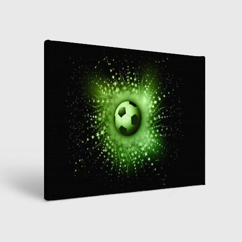 Холст прямоугольный Футбольный мяч 4