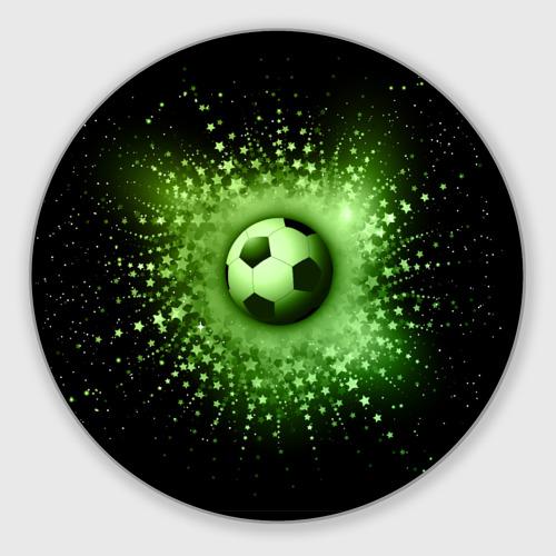Коврик для мышки круглый Футбольный мяч 4