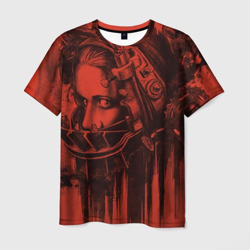 Мужская футболка 3D Saw