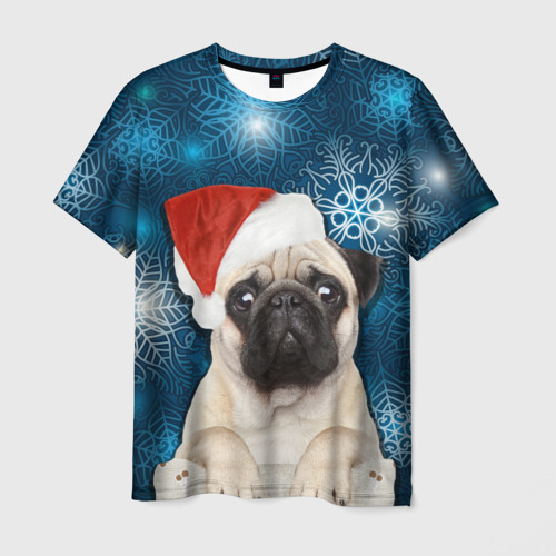 Мужская футболка 3D Праздничная пара