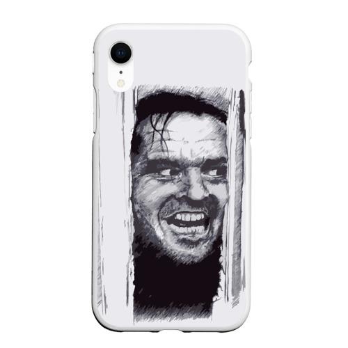 Чехол для iPhone XR матовый Jack Nicholson