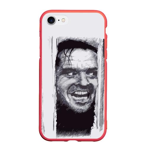 Чехол для iPhone 7/8 матовый Jack Nicholson