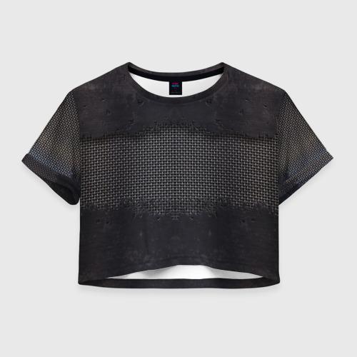 Женская футболка Crop-top 3D Sci-Fi