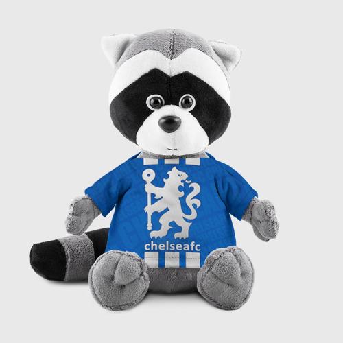 Игрушка Енотик в футболке 3D Chelsea