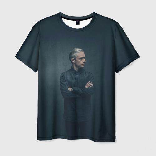 Мужская футболка 3D Доктор Ватсон