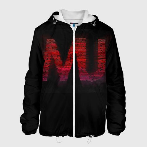 Мужская куртка 3D Manchester United team