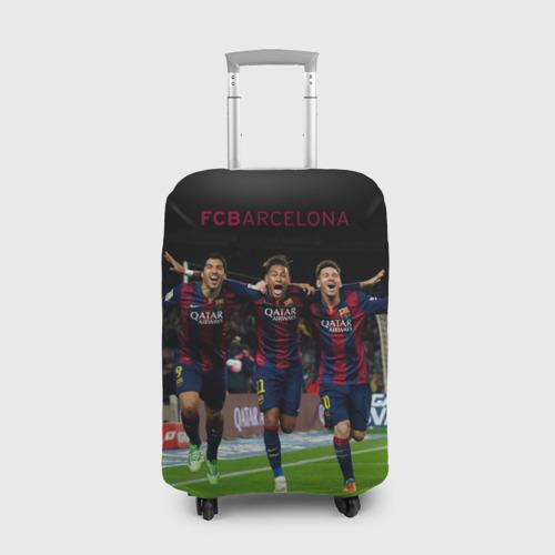 Чехол для чемодана 3D Barcelona6
