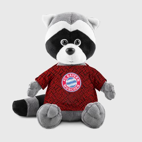 Игрушка Енотик в футболке 3D Bayern munich