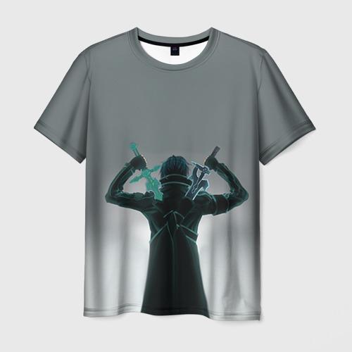 Мужская футболка 3D Мастера меча онлайн