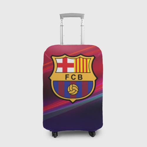 Чехол для чемодана 3D ФК Барселона