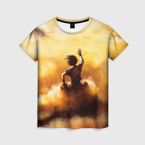 Женская футболка 3D Cloud