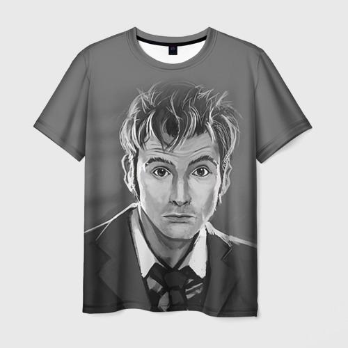 Мужская футболка 3D Доктор Кто fun art