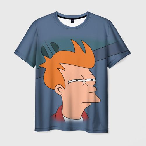 Мужская футболка 3D Фрай