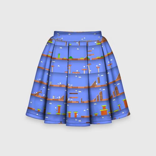 Детская юбка-солнце 3D Super Mario world