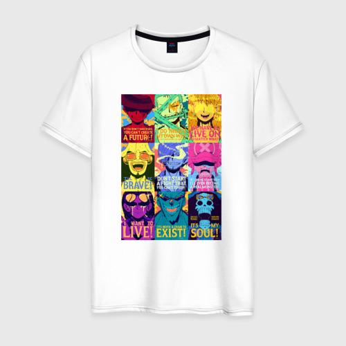 Мужская футболка хлопок Постер One Piece