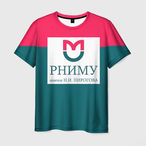 Мужская футболка 3D РНИМУ