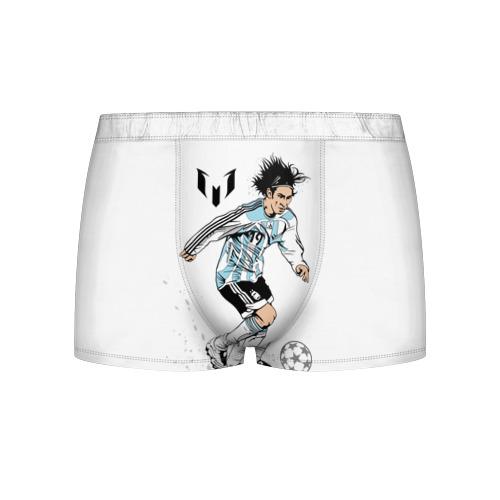 Мужские трусы 3D Messi