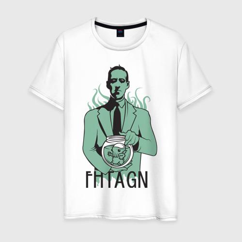 Мужская футболка хлопок Лавкрафт