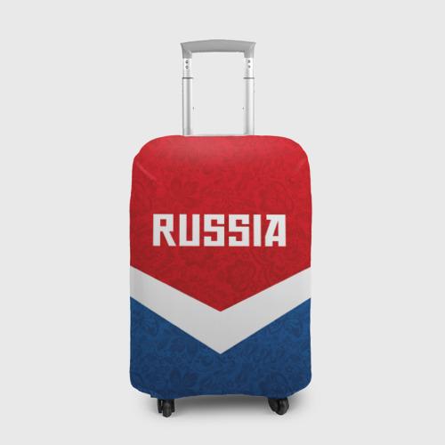 Чехол для чемодана 3D Russia Team
