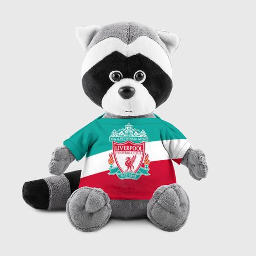 Игрушка Енотик в футболке 3D Ливерпуль