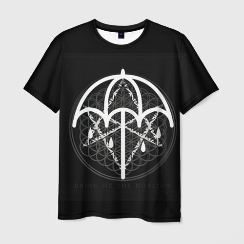 Мужская футболка 3D Bring Me The Horizon