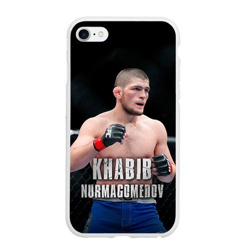 Чехол для iPhone 6/6S матовый Хабиб Нурмагомедов