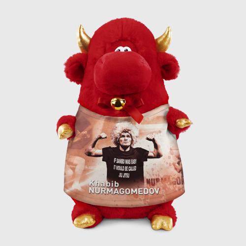 Игрушка Бычок в футболке 3D Хабиб Нурмагомедов