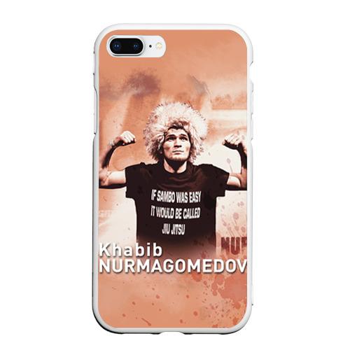 Чехол для iPhone 7Plus/8 Plus матовый Хабиб Нурмагомедов