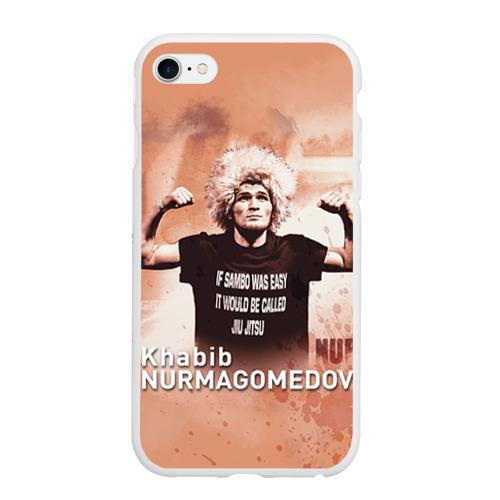 Чехол для iPhone 6Plus/6S Plus матовый Хабиб Нурмагомедов