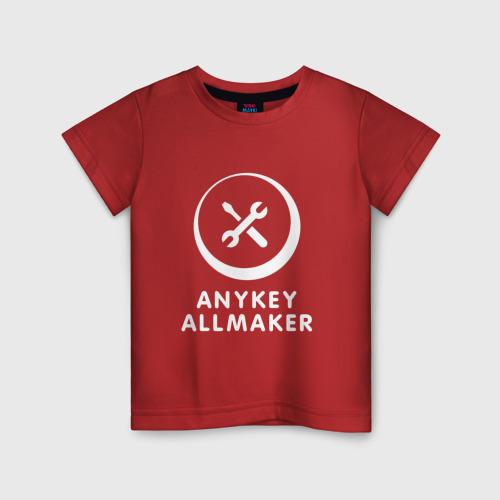 Детская футболка хлопок Anykey Allmaker