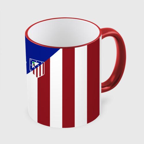 Кружка с полной запечаткой Атлетико Мадрид