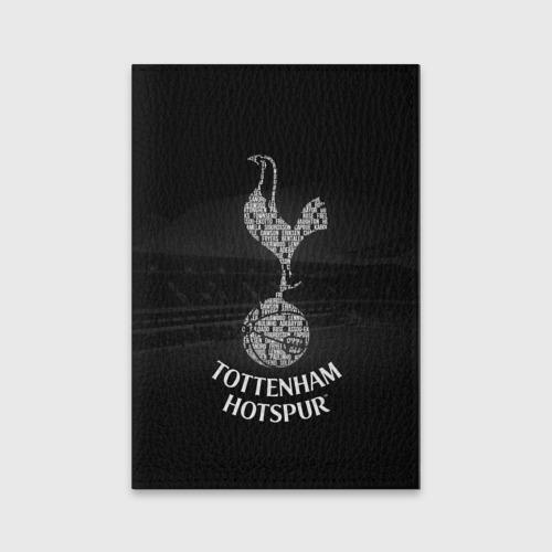 Обложка для паспорта матовая кожа Тоттенхэм Хотспур
