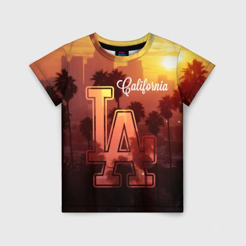 Детская футболка 3D Калифорния