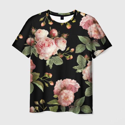 Мужская футболка 3D Twenty One Pilots, розы как у Тайлера