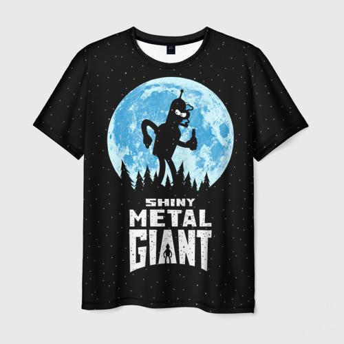 Мужская футболка 3D Bender Metal Giant