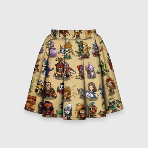 Детская юбка-солнце 3D Dota 2 All