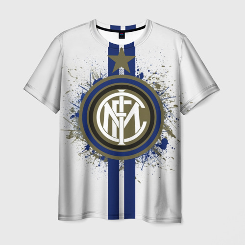 Мужская футболка 3D Internazionale