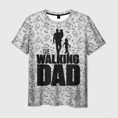 Мужская футболка 3D Walking Dad