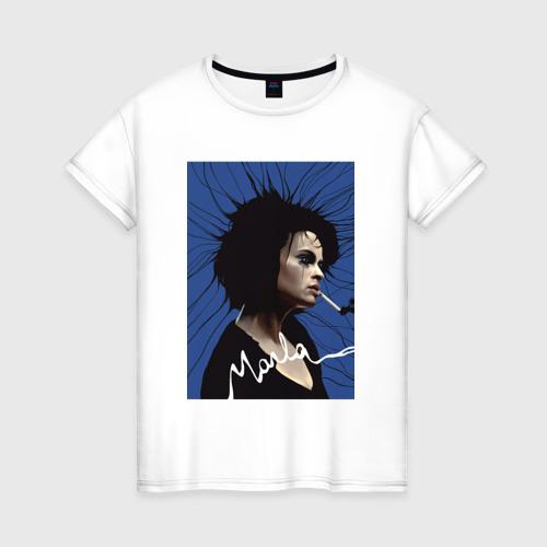 Женская футболка хлопок Marla Singer