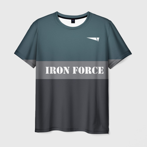 Мужская футболка 3D Iron force