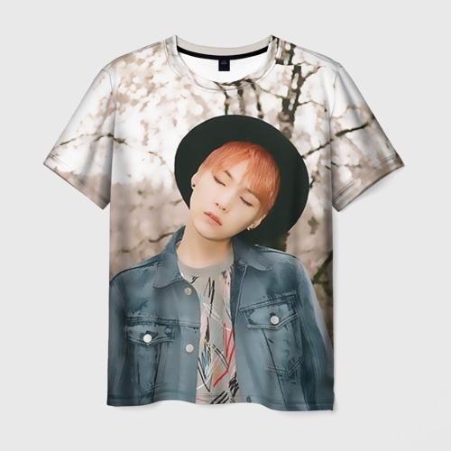 Мужская футболка 3D Min Yoon Gi