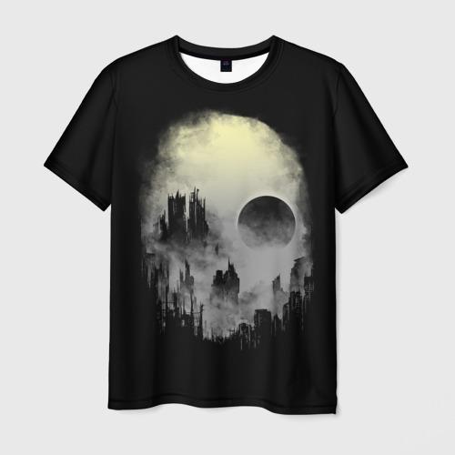Мужская футболка 3D Мертвый туман