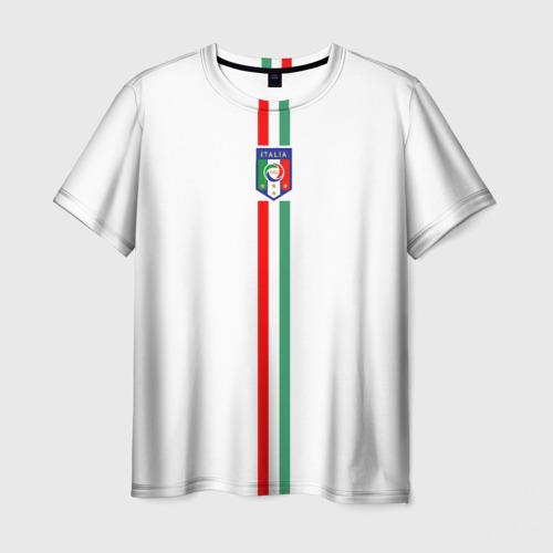 Мужская футболка 3D Сборная Италии